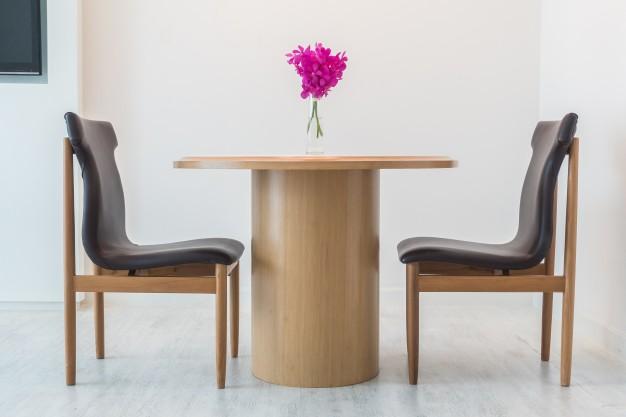 træ spisebord
