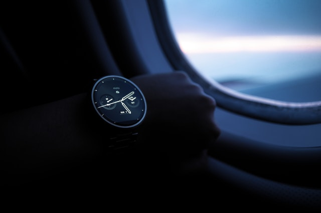 Smartwatch i mørke
